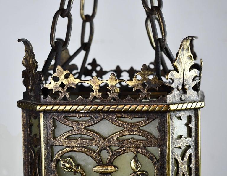 Oscar Bach Brass And Bronze Pendant At 1stdibs