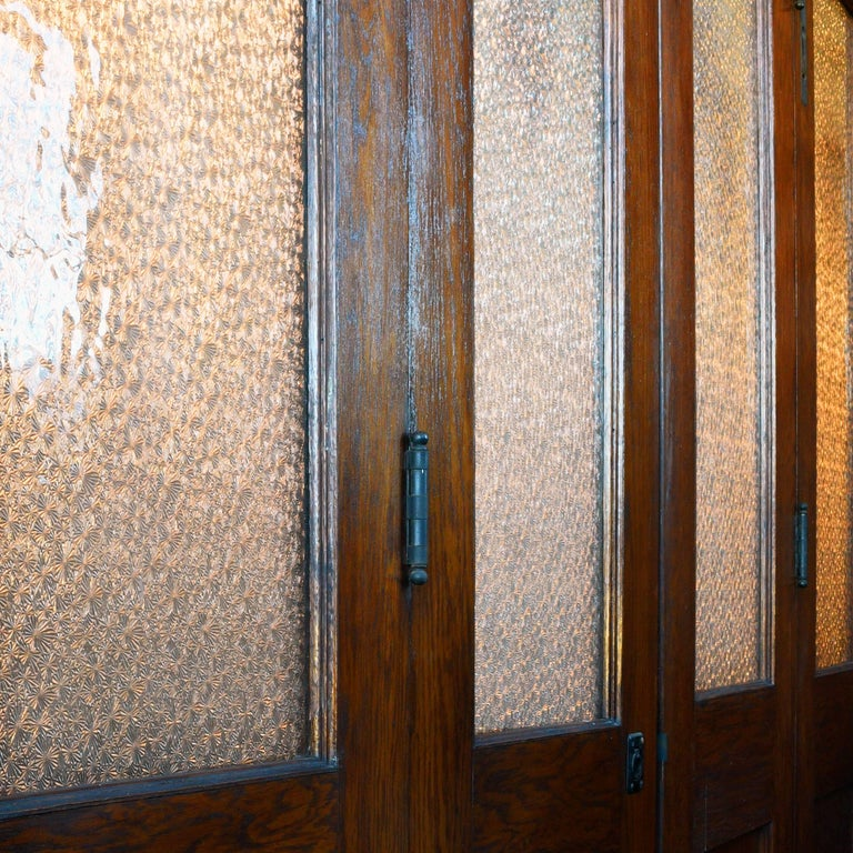 Oak Bi-Fold Door Unit For Sale 3