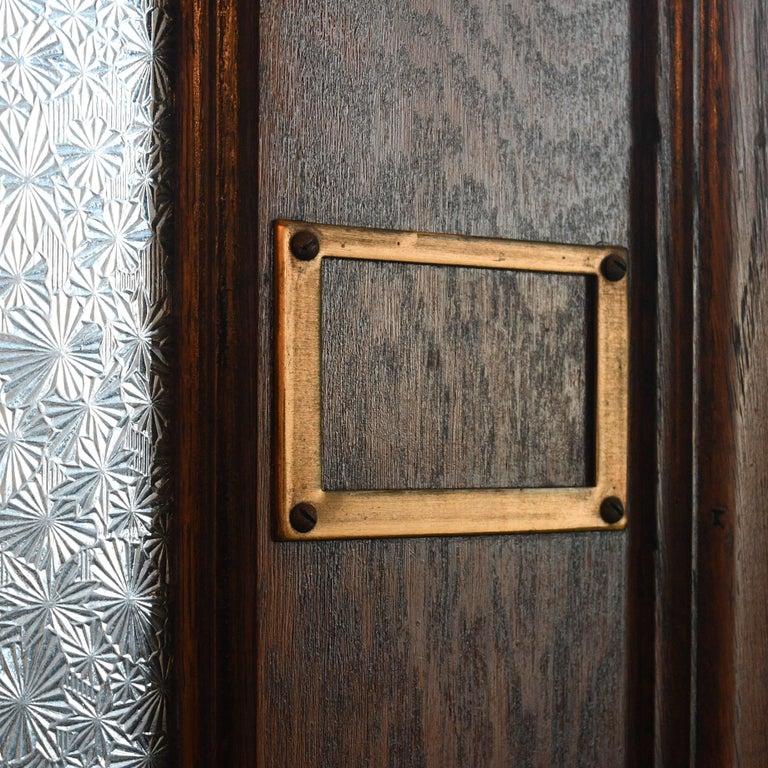 Oak Bi-Fold Door Unit For Sale 4