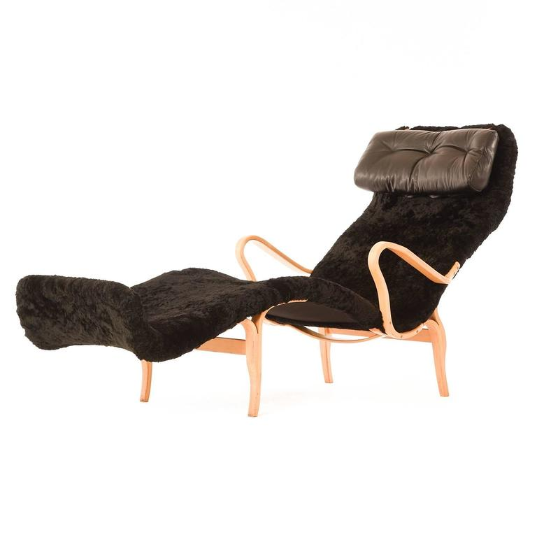Danish modern chaise longue at 1stdibs for Chaise longue moderne