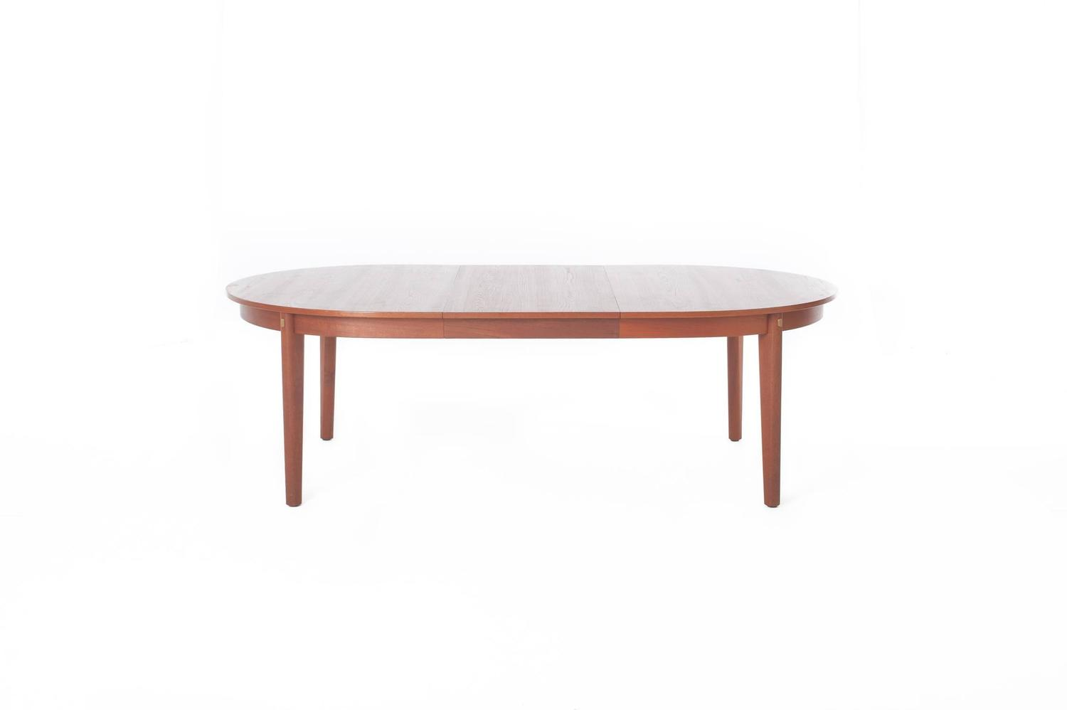 Danish modern dining table for sale at 1stdibs for 12 person dining table for sale