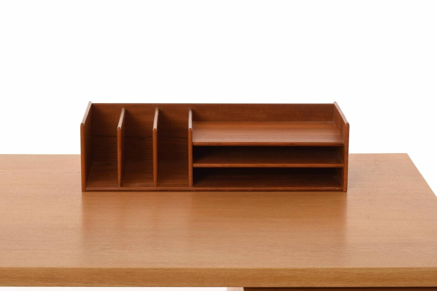 Danish modern desk organizer for sale at 1stdibs - Designer desk accessories and organizers ...