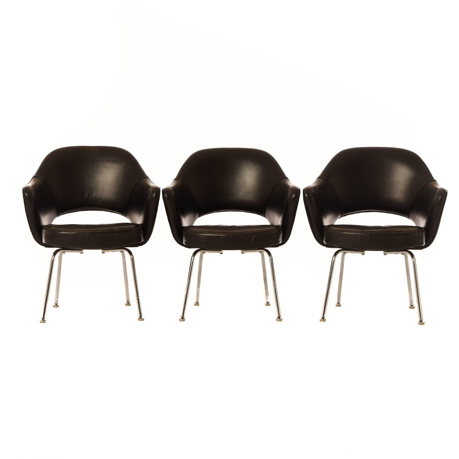 Danish Modern Saarinen Executive Chairs For Sale At 1stdibs