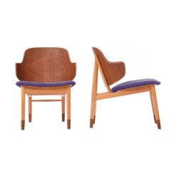 Danish Modern Penguin Side Chairs