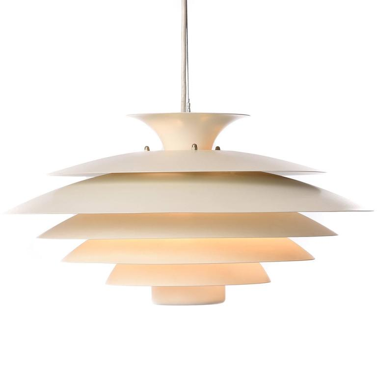 Danish modern pendant light at 1stdibs for Danish modern light fixtures
