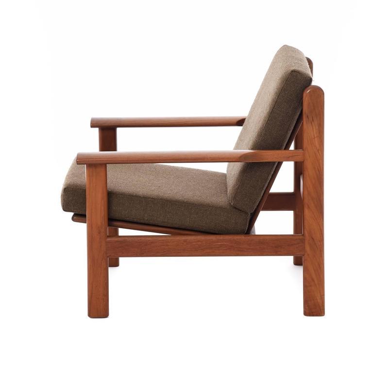 Scandinavian Modern Danish Modern Volther Lounge Chair For Sale