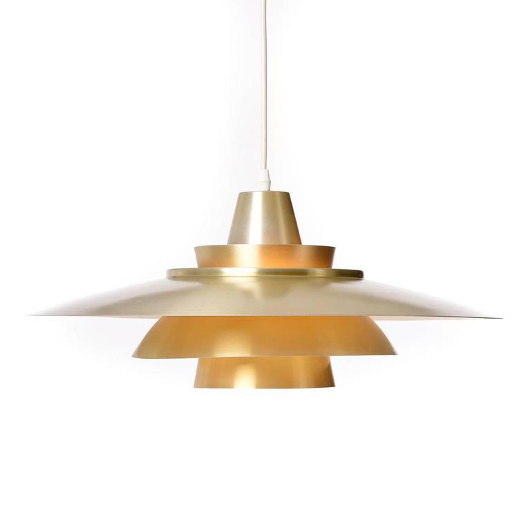Danish Modern Pendant Light For Sale at 1stdibs