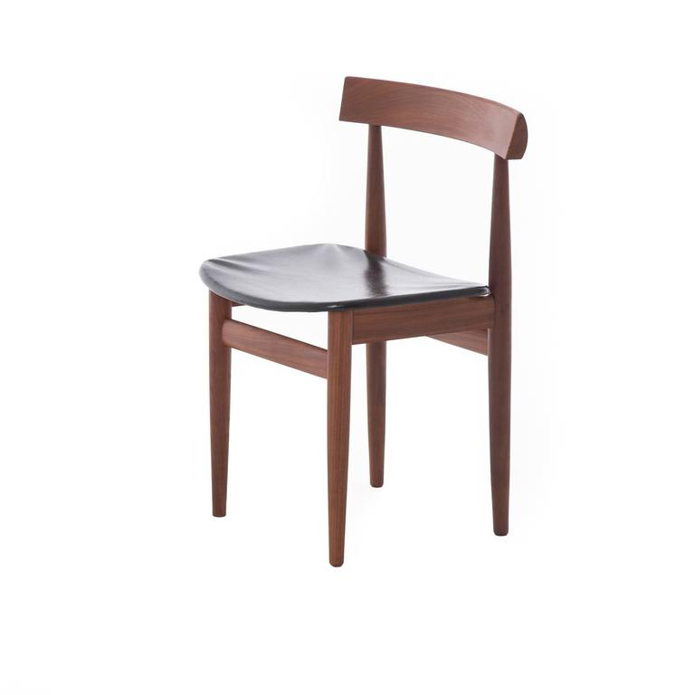 danish modern roundette dining table and chairs at 1stdibs