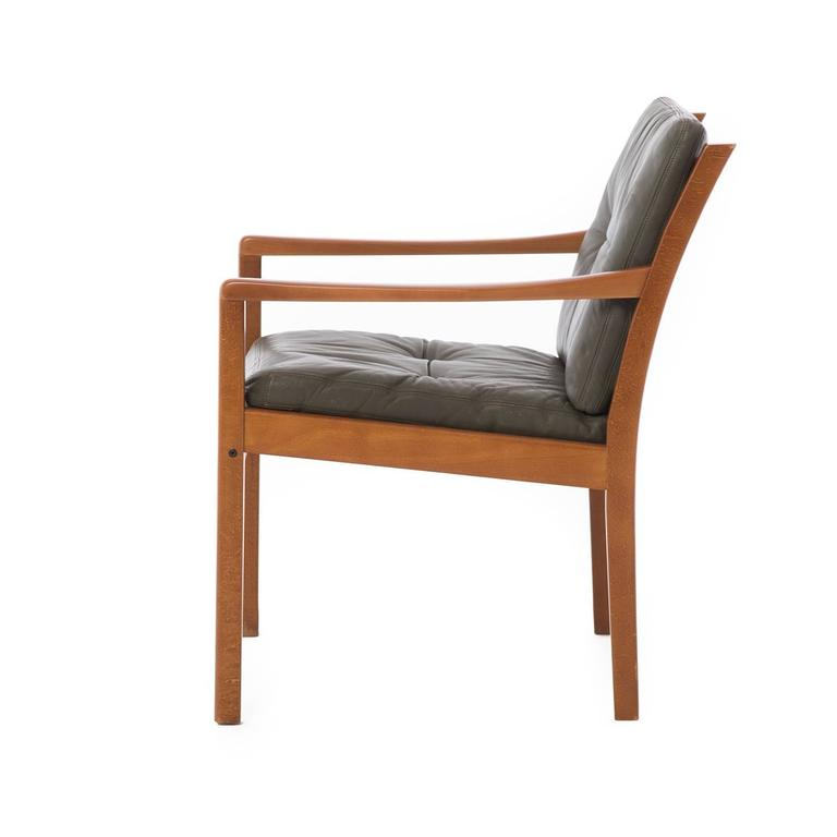 modern leather lounge chairs at 1stdibs