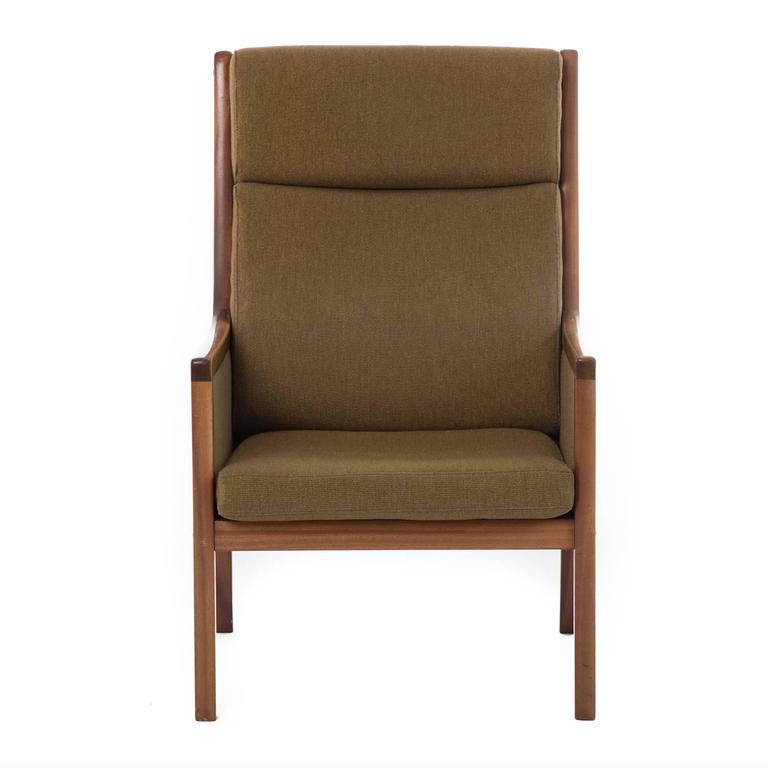 Danish Modern Wanscher Lounge Chair