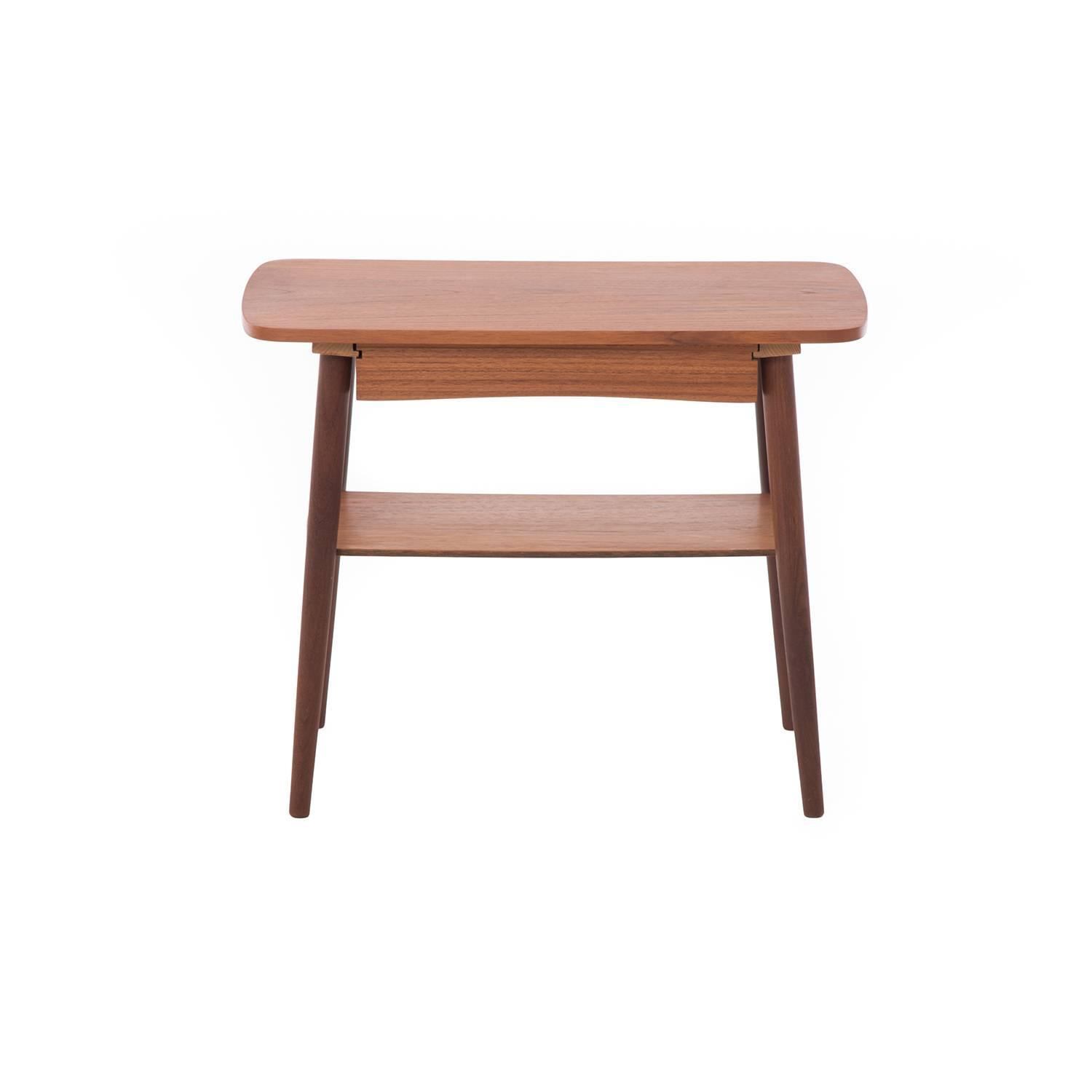 Danish Modern Side Table With Drawer For Sale At 1stdibs
