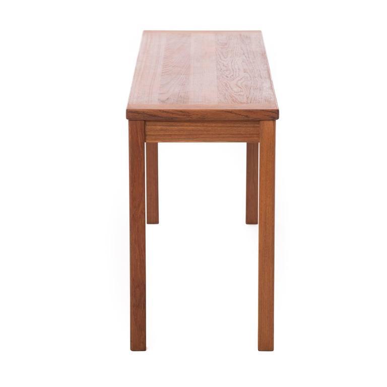 Danish Modern Console Table At 1stdibs