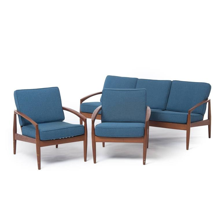 Danish Modern Kristiansen Lounge Chairs For Sale At 1stdibs