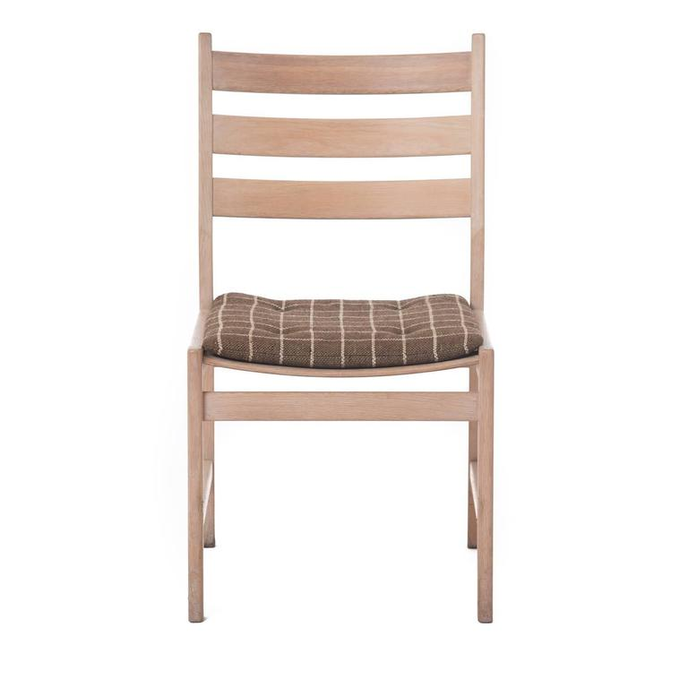 Danish Modern Ladder Back Dining Chairs At 1stdibs