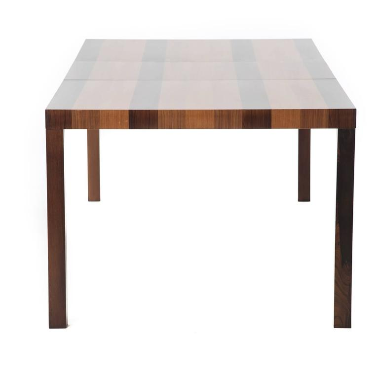 danish modern butcher block dining table for sale at 1stdibs