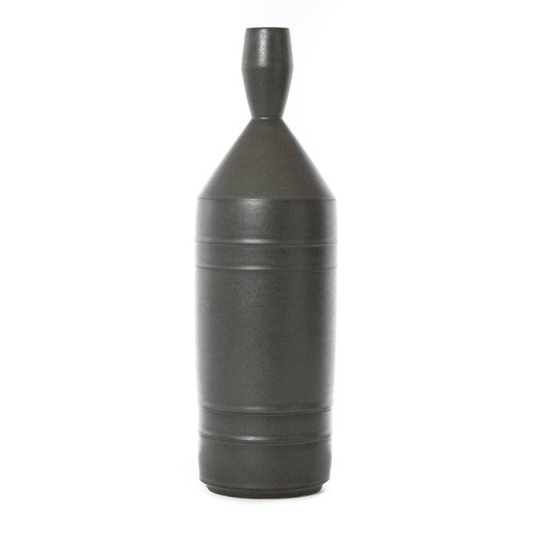 Black Conical Vessel