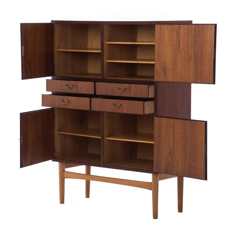 Danish Modern Cabinet For Sale At 1stdibs