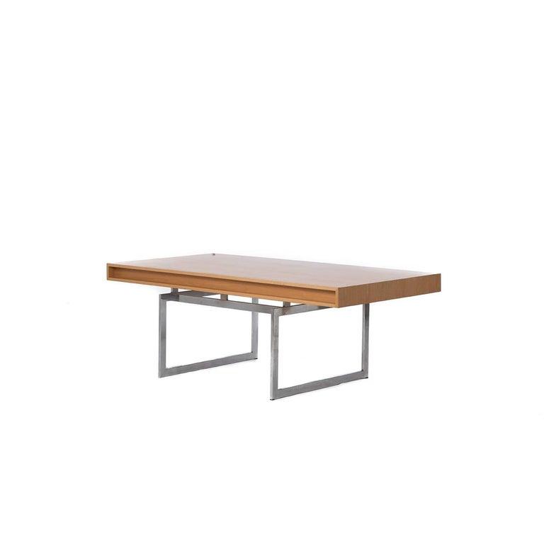 Lacquered Danish Modern Bodil Kjaer Executive Desk