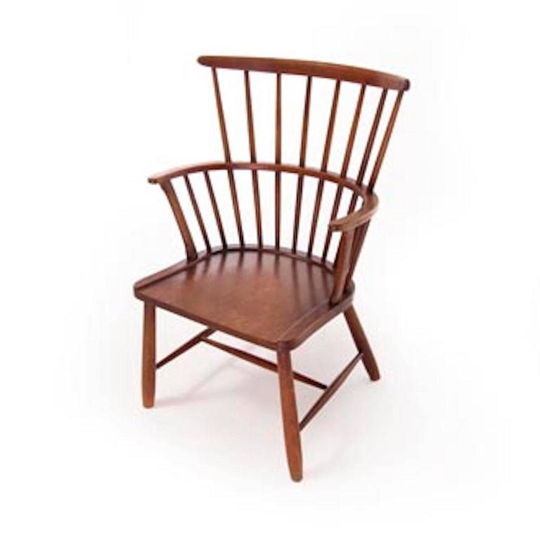 Ordinaire Beautifully Restored Vintage Danish Modern Windsor Chair By Ove Boldt.  Modern Take On A Traditional