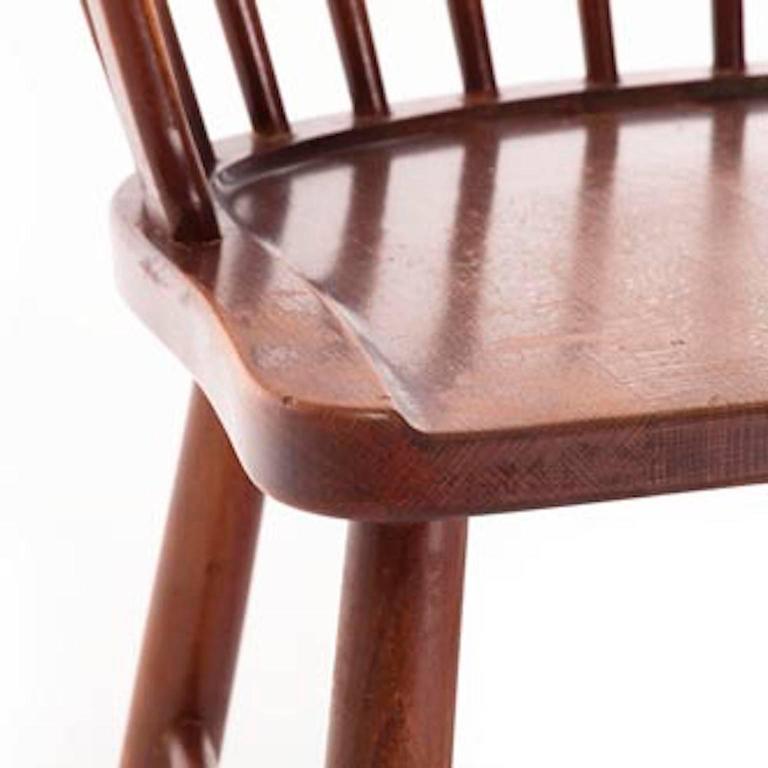 20th Century Vintage Danish Modern Windsor Chair