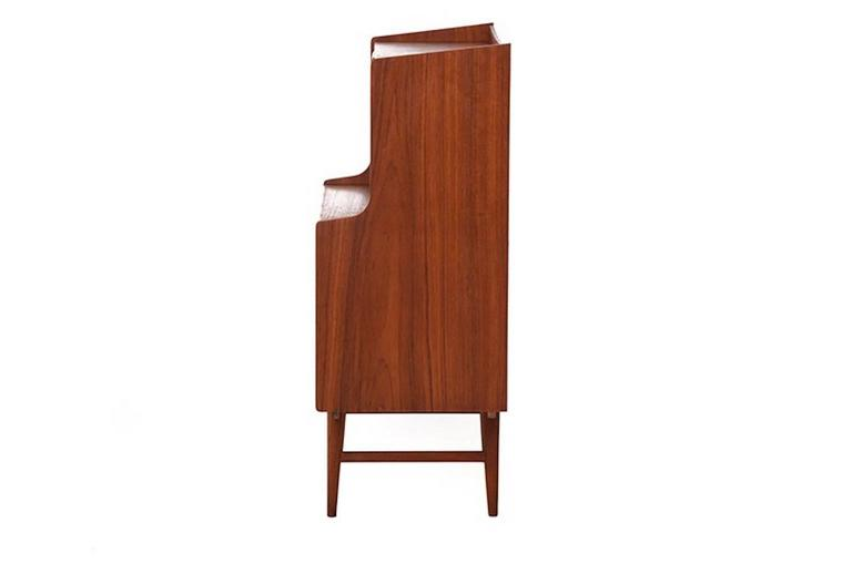 Vintage Danish Modern Secretary Desk at 1stdibs