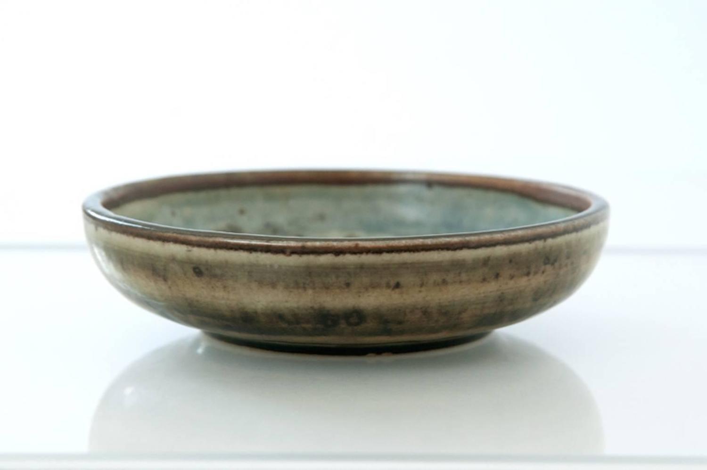 Danish Modern Ceramic Stag Bowl For Sale At 1stdibs