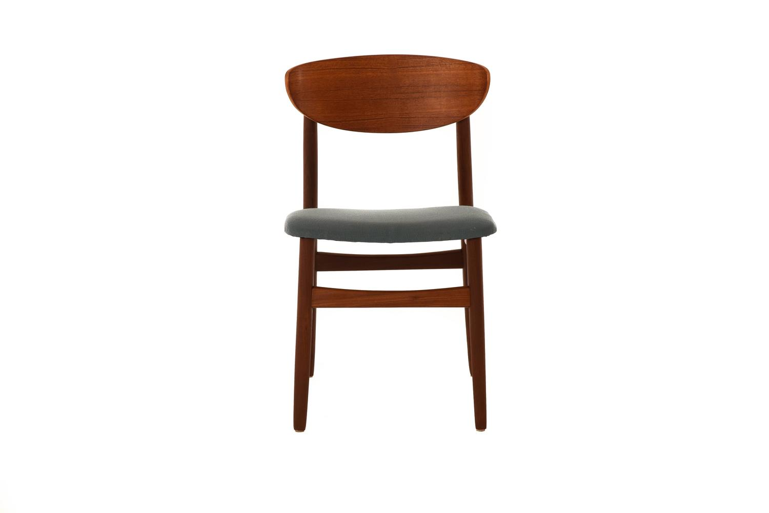 set of six danish modern dining chairs at 1stdibs