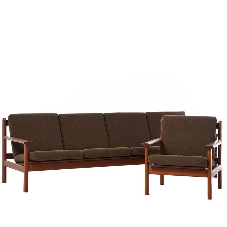 Danish Modern Volther Lounge Chair For Sale 1