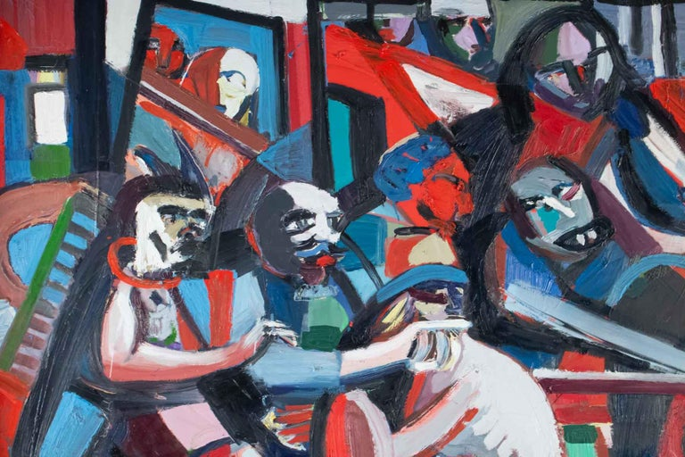 French Important Painting of the Mid-20th Century, Modern Art For Sale