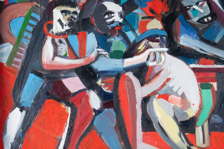 Important Painting of the Mid-20th Century, Modern Art In Good Condition For Sale In Saint-Ouen, FR