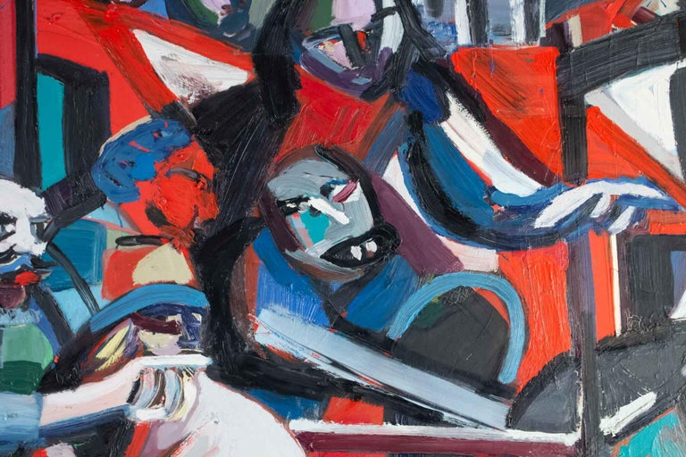 Late 20th Century Important Painting of the Mid-20th Century, Modern Art For Sale