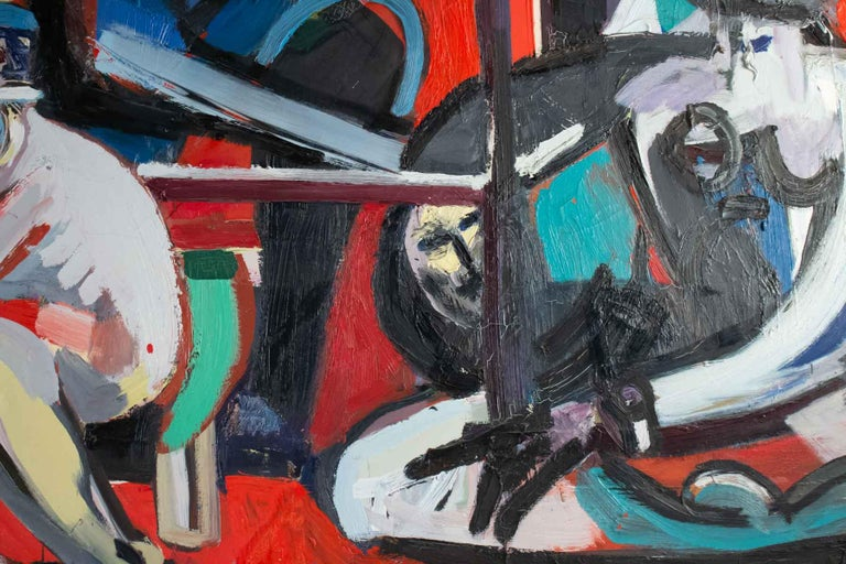 Important Painting of the Mid-20th Century, Modern Art For Sale 1
