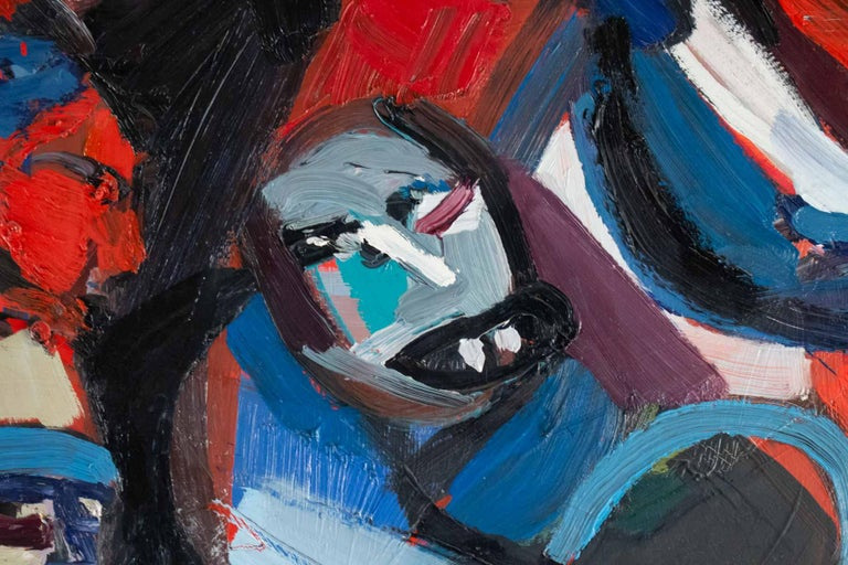 Important Painting of the Mid-20th Century, Modern Art For Sale 4
