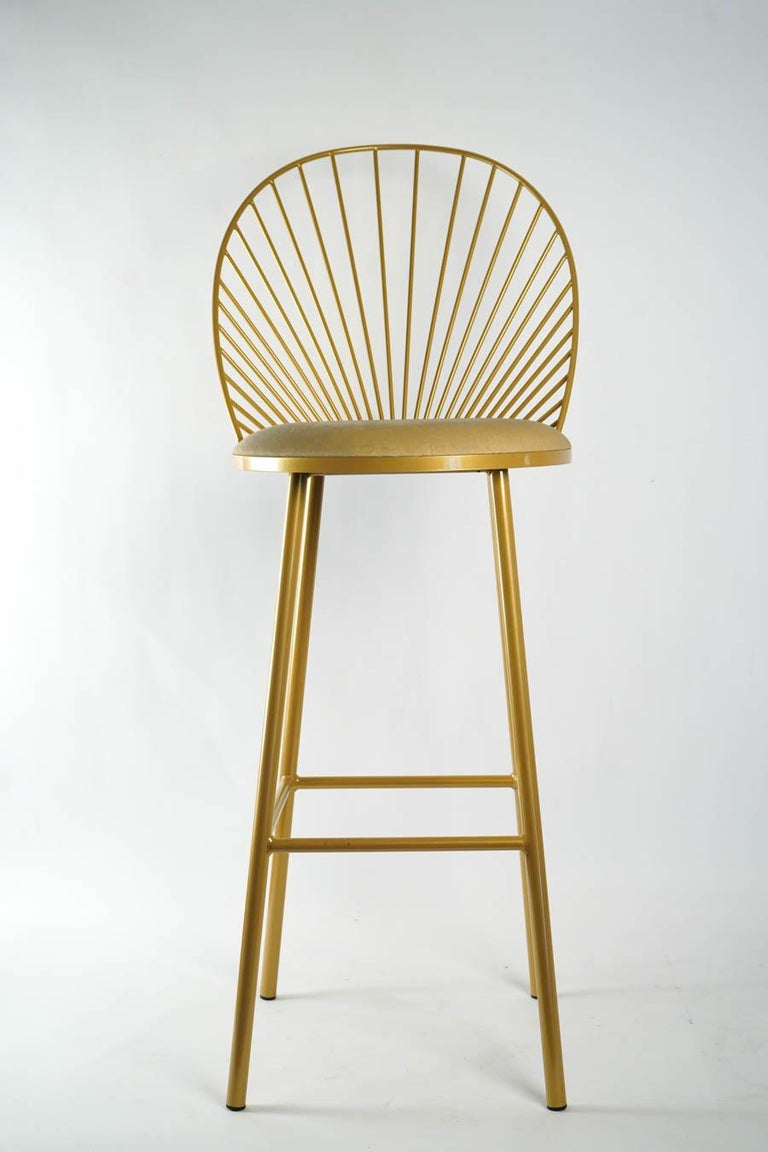 French High Chair by Designer Anouchka Potdevin, Contemporary Artist For Sale