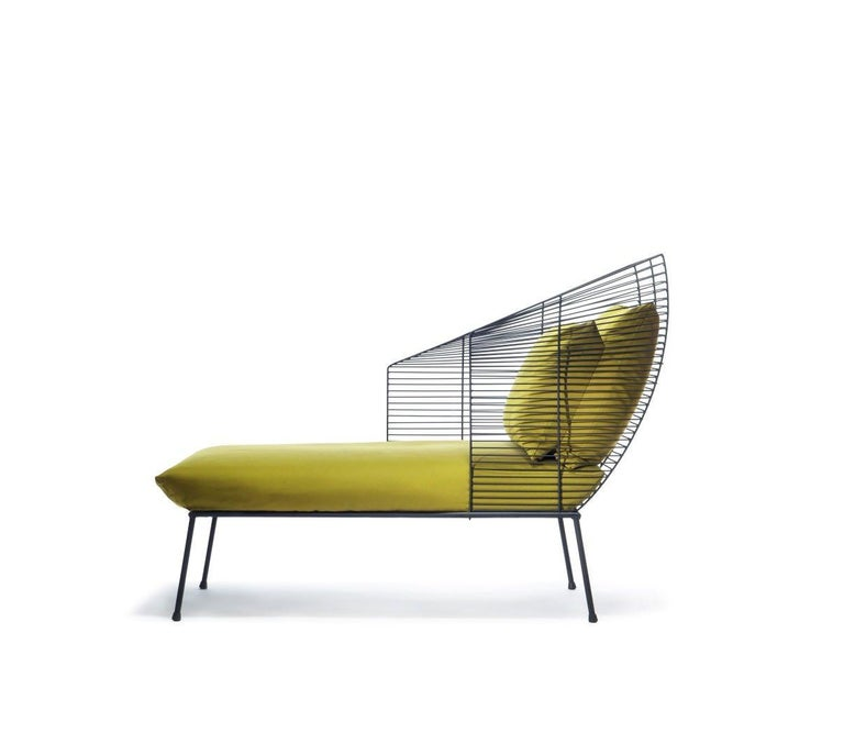 Modern Modular Settee by Anouchka Potdevin, Contemporary Artist For Sale