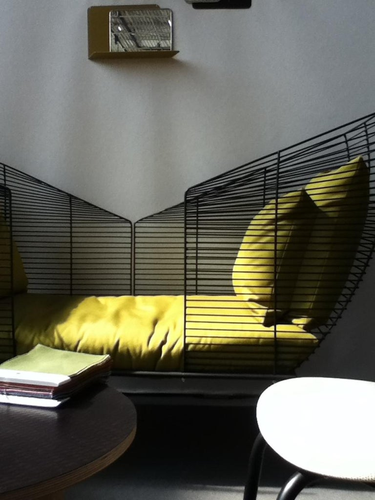 Modular Settee by Anouchka Potdevin, Contemporary Artist In Excellent Condition For Sale In Saint-Ouen, FR