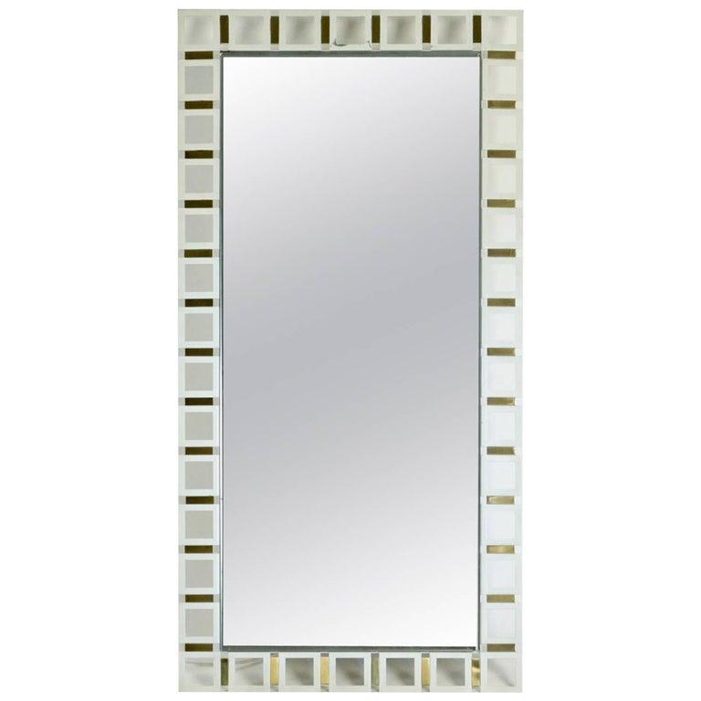 Illuminated Rectangular Mirror