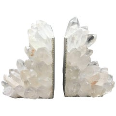 Quartz Point Bookends Handcrafted in the USA