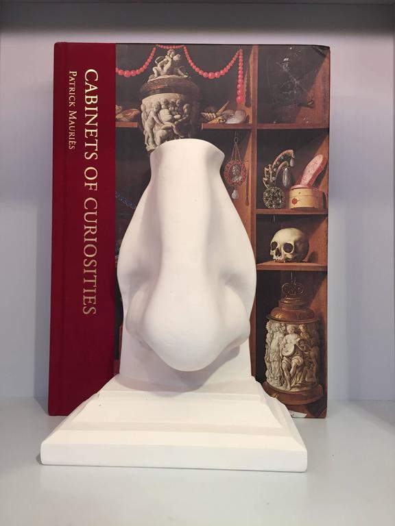 Greco Roman Nose Bookend For Sale