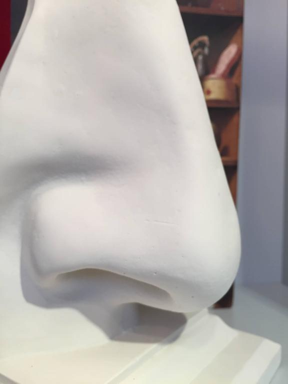 Molded Nose Bookend For Sale