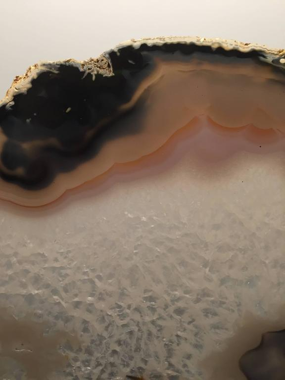 Impressively Large Custom Mounted Agate Stone Mineral