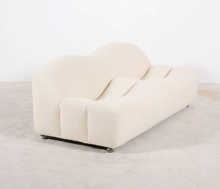 Pierre Paulin Two Seat Sofa From The F260 Series Also Known As