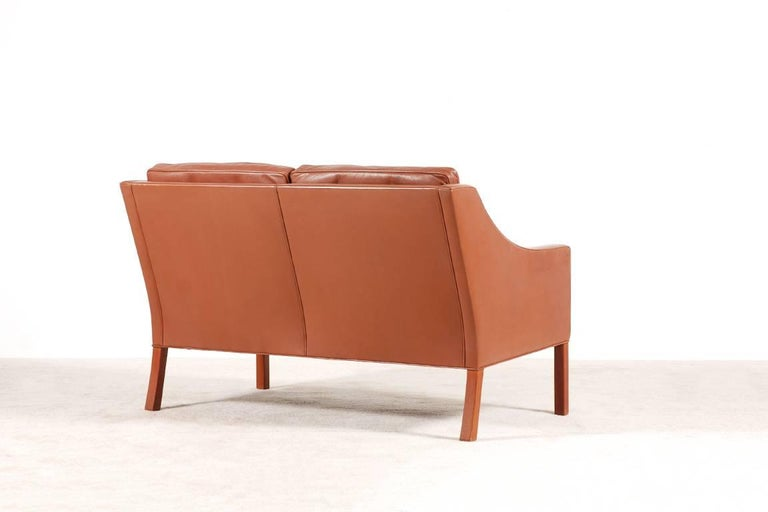 Børge Mogensen, 2-Seat Sofa Model 2208, 1960s In Good Condition For Sale In Paris, FR