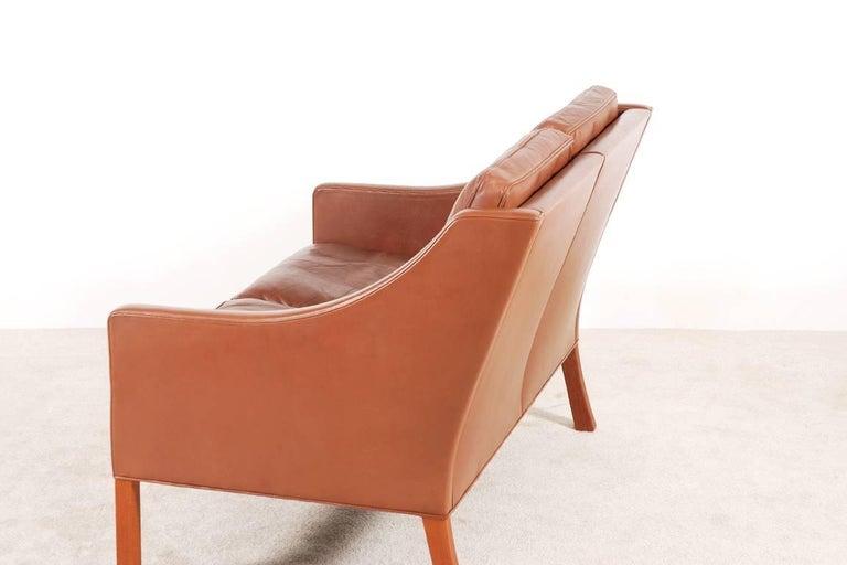 Danish Børge Mogensen, 2-Seat Sofa Model 2208, 1960s For Sale