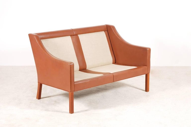 Børge Mogensen, 2-Seat Sofa Model 2208, 1960s For Sale 1