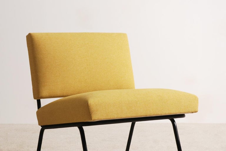 Mid-20th Century Pair of Florence Knoll Easy Chairs for Knoll International, circa 1955 For Sale