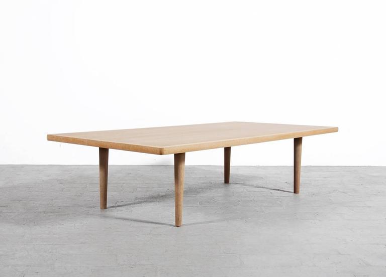 Hans J Wegner Large Oak Coffee Table For Getama 3