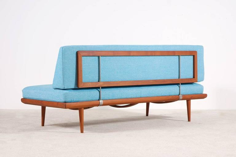 Peter Hvidt & Orla Mølgaard-Nielsen Set of Teak Daybeds and Corner Table 5