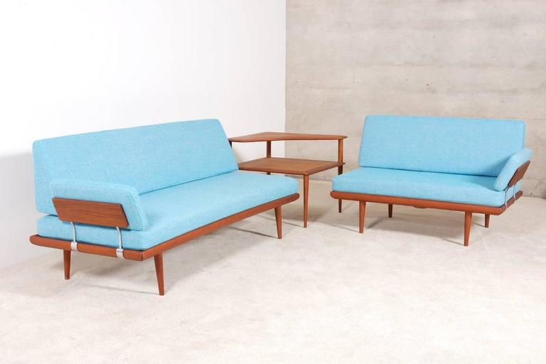 Peter Hvidt & Orla Mølgaard-Nielsen Set of Teak Daybeds and Corner Table 2