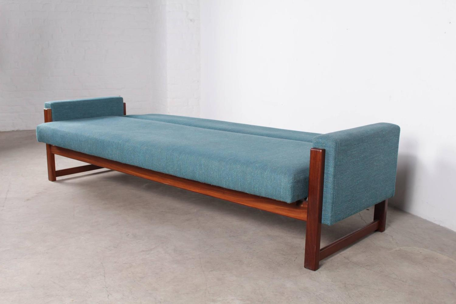 Three seat sofa bed by yngve ekstr m for pastoe at 1stdibs for Sofa bed 65 inches